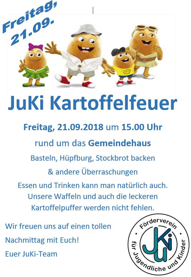 Kartoffelfeuer @ Pfarrgarten Kirchhorst